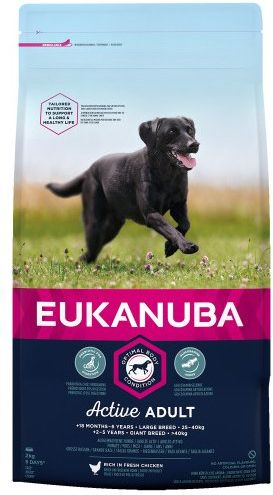 Eukanuba Active Adult Large Breed rated 61 out of 100! All