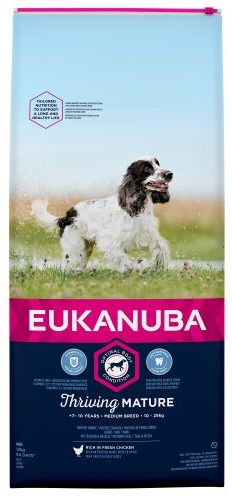 Eukanuba Thriving Mature Medium Breed rated 61 out of 100
