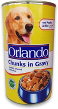 Orlando Chunks in Gravy rated 43 out of 100! All About Dog Food