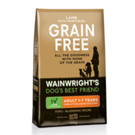 Wainwrights Grain Free Dog Food >> Wainwright S Dry Adult Grain Free Rated 71 Out Of 100 All