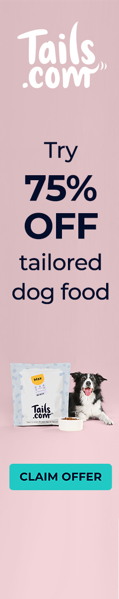 75% OFF tailored dog food | Tails.com