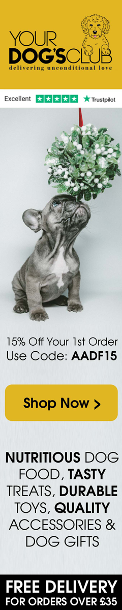 Your Dog's Club - 15% off your first order plus free delivery!